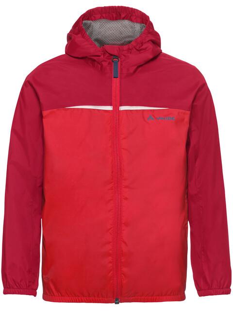 VAUDE Kids Turaco Jacket energetic red
